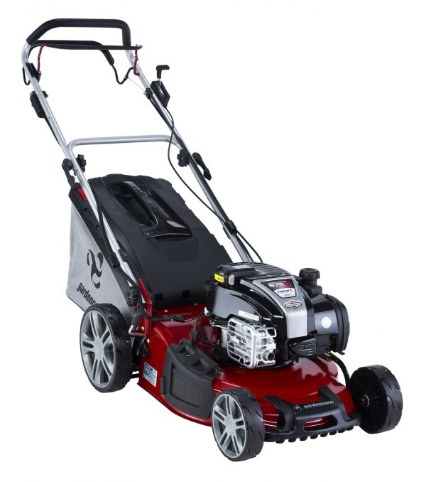 "GARDENCARE LMX46SP IS 46cm (18"") 'TO THE EDGE' 3-in-1 SELF PROPELLED LAWNMOWER-0"