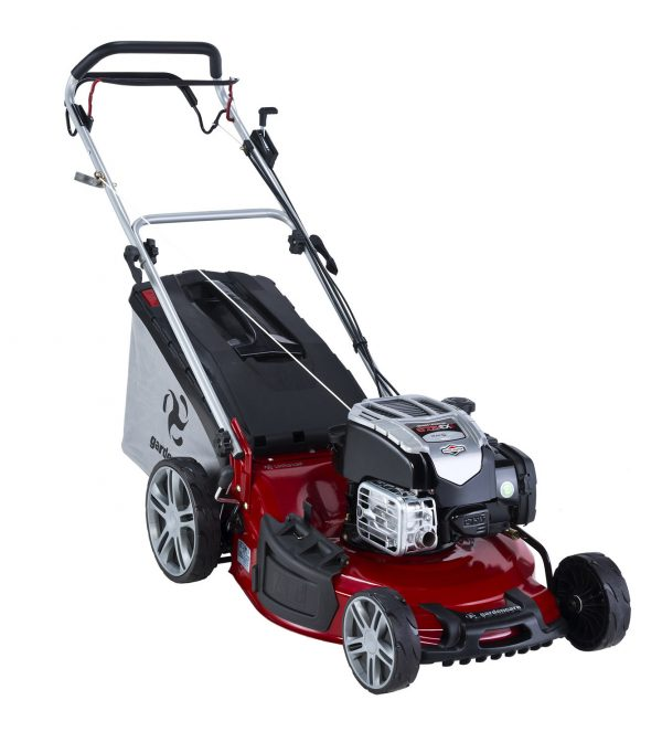 """GARDENCARE LMX51SP 51cm (20"""") 'TO THE EDGE' 3-in-1 SELF PROPELLED LAWN MOWER-0"""